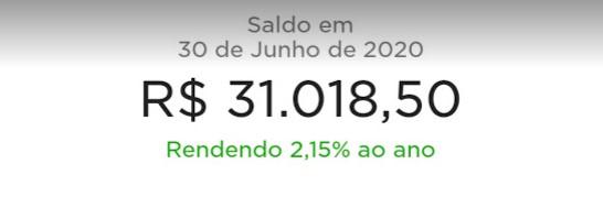 Rendimento do Nubank com a nova SELIC (2,15% ao ano)