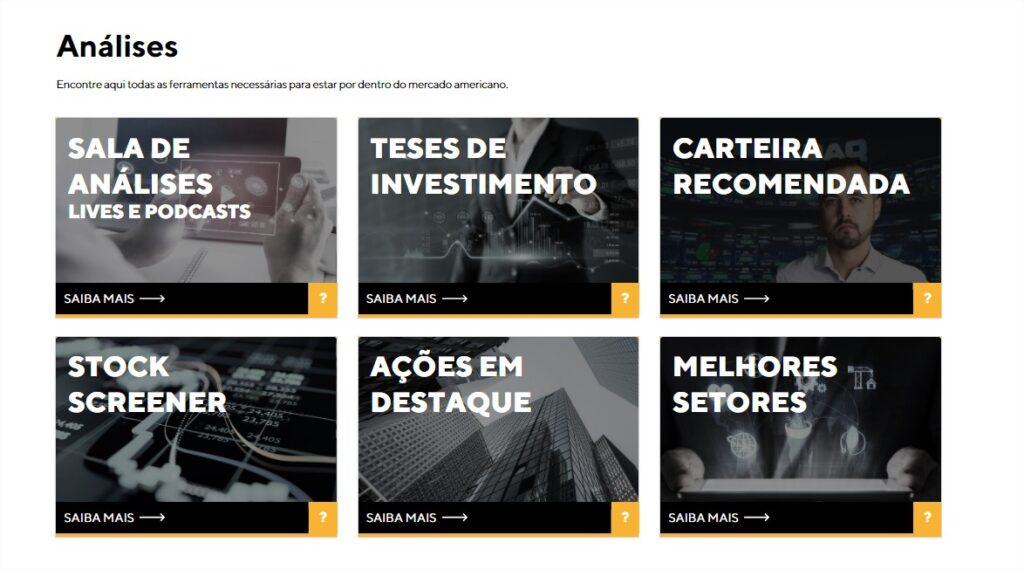 Funcionalidades Premium da Avenue Securities