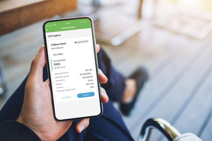 PagSeguro lança Rentabilidade de 210% CDI (CDBlack Week PagBank)