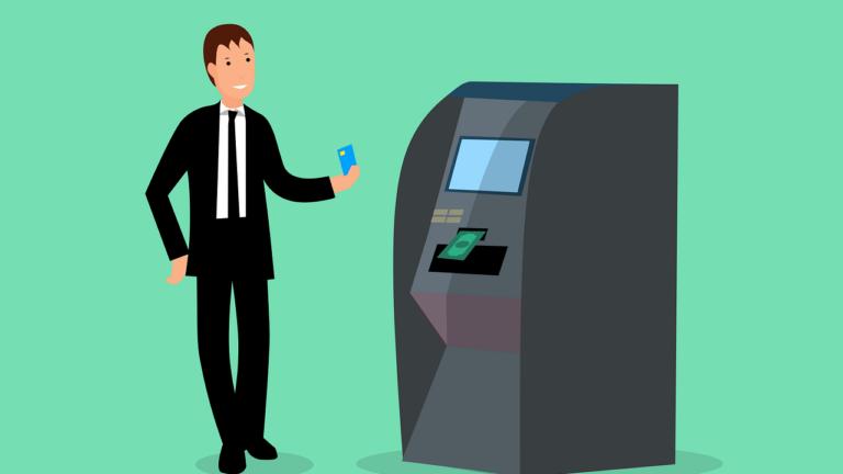 Como fazer saques em caixas eletrônicos de contas em bancos digitais