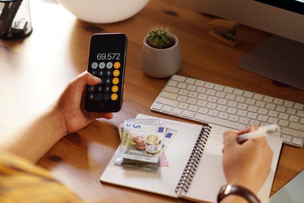 Como organizar as minhas finanças pessoais?