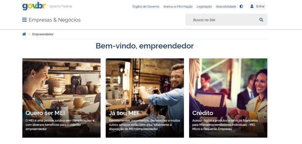 Portal do Empreendedor Gov.br