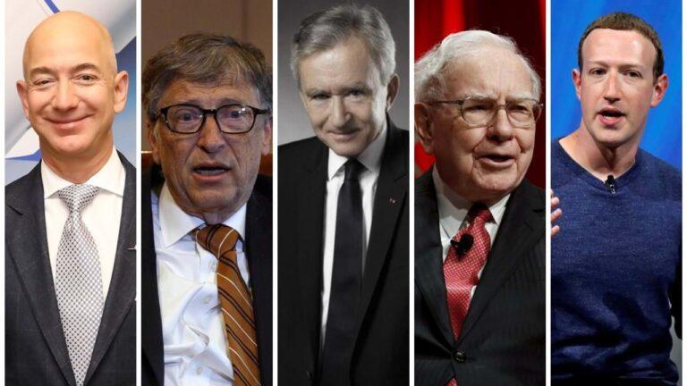 homens mais ricos do mundo